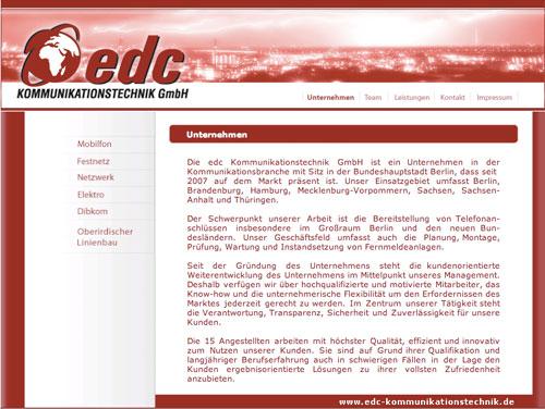 edc kommunikationstechnik 2008