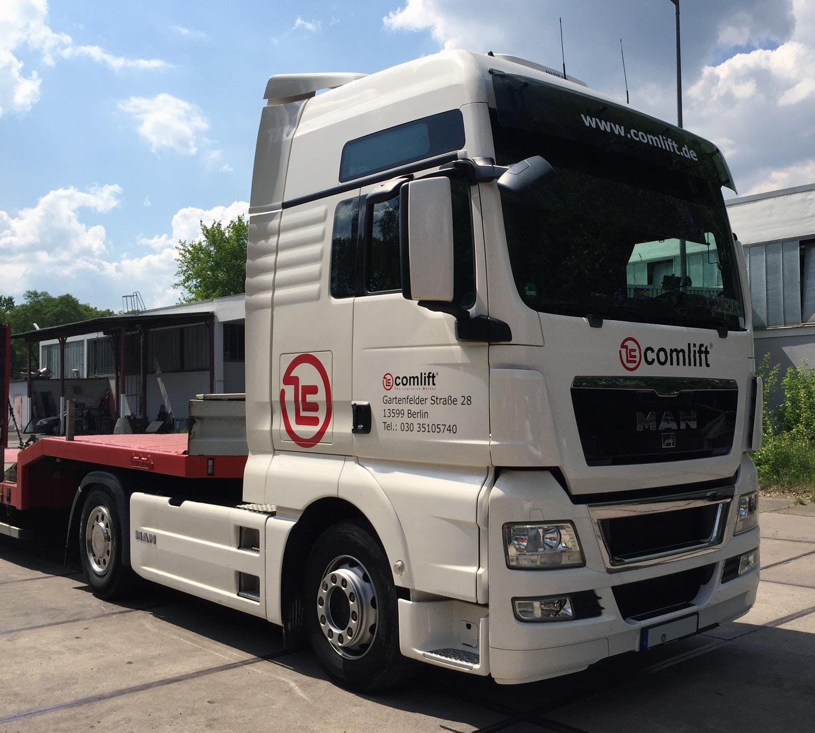 LKW-Beschriftung – Comlift GmbH